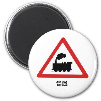 Choochoo 6 Cm Round Magnet