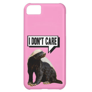 Choose Background Color Funny Honey Badger iPhone 5C Covers