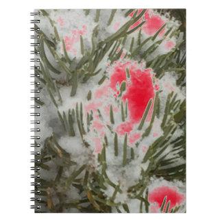 Choose Color Christmas Camo Spiral Notebook