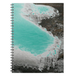 Choose Color River Icicles Notebook