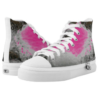Choose Color River Icicles Printed Shoes