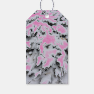 Choose Color Snow Camo Gift Tags