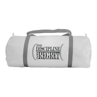 Choose Discipline Gym Bag Gym Duffel Bag