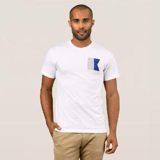 Choose from 26 Watercolor Nautical Maritime Flags T-Shirt
