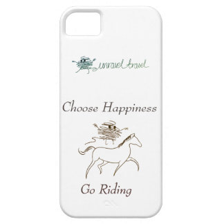 Choose Happiness - Go Riding Case For The iPhone 5