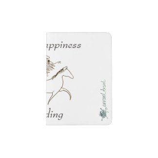 Choose Happiness - Go Riding Passport Holder