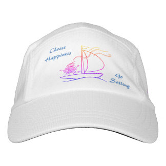 Choose happiness, go sailing hat