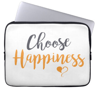 Choose Happiness Laptop Sleeve