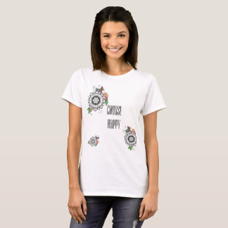 Choose Happy Artsy T-Shirt