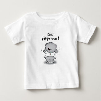 Choose Hipponess! Cute T-Shirt with a Happy Hippo!