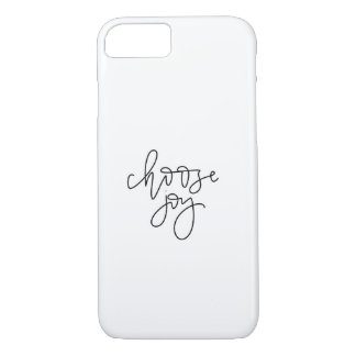 Choose Joy Calligraphy Cellphone Case