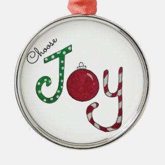 Choose Joy ornament