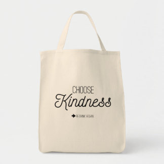Choose Kindness Grocery Tote