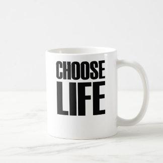 CHOOSE LIFE eighties mug