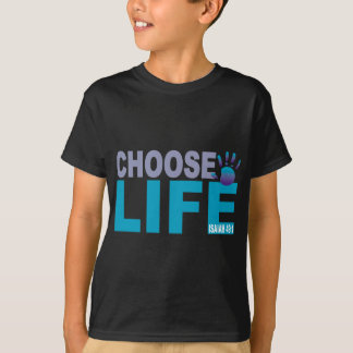 Choose Life Isaiah 49:1 T-Shirt