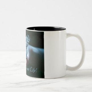 Choose Life! Two-Tone Coffee Mug