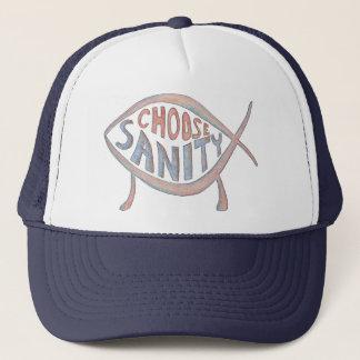 """""""Choose Sanity"""" Hat"""