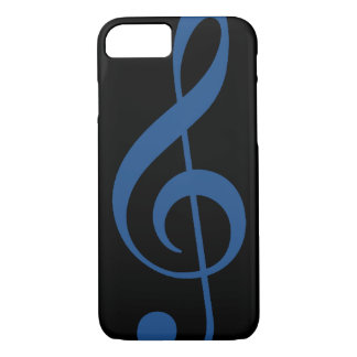 choose the color of the treble clef iPhone 7 case