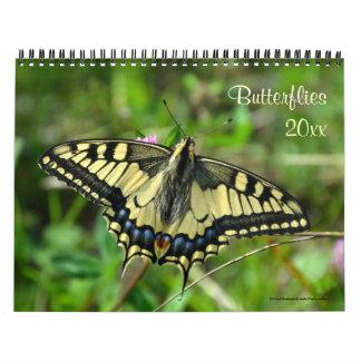 Choose the Year Custom Butterfly Photo Calendar
