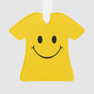 Choose To Be Happy Smiley Face Ornament
