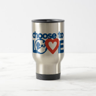 Choose to Love Stainless Steel Commuter Travel Mug