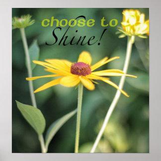 Choose to Shine Poster