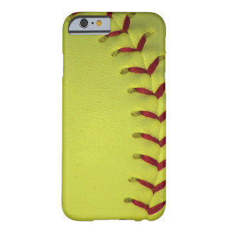 Choose Your Color Baseball - Softball Barely There iPhone 6 Case