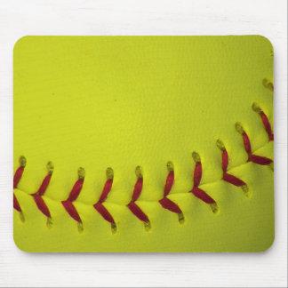 Choose Your Color Baseball - Softball Mouse Pad