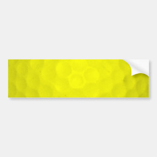 Choose Your Color Golf Ball Car Bumper Sticker