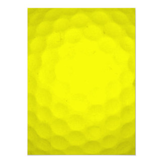 Choose Your Color Golf Ball Custom Announcements