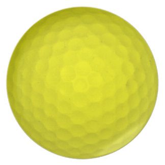 Choose Your Color Golf Ball Plate