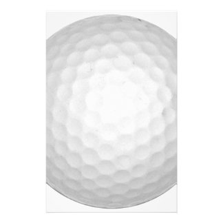 Choose Your Color Golf Ball Stationery Paper