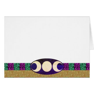 Choose Your Color Purple Green Gold & Triple Moon Card