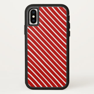 Choose Your Colour Red White Stripes Phone Case