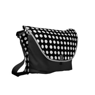 Choose Your Own Colour White Polka Dot Bag Commuter Bags