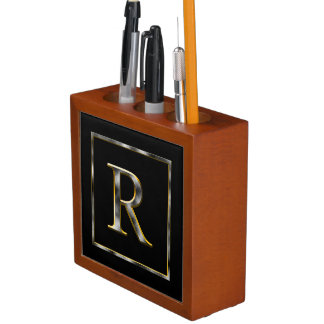 Choose Your Own Diamond Cut Metal Initial Holder