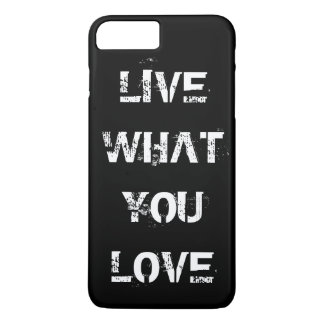 Choose your own text, image & background color iPhone 7 plus case
