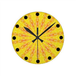 Choose Your Sun Cheery Clock