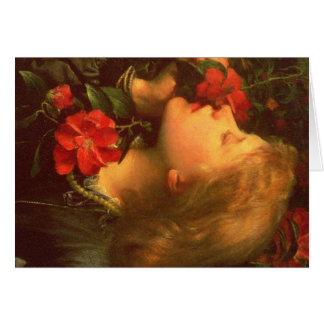 Choosing, Dame Ellen Terry Card