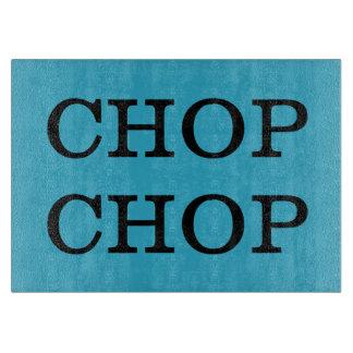 Chop Chop Customizable Background Color Cutting Board