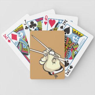 Chop Sticks Asian Design Poker Deck