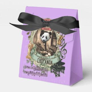 Chopanda Great Animal Composer Chopin Panda Wedding Favour Boxes