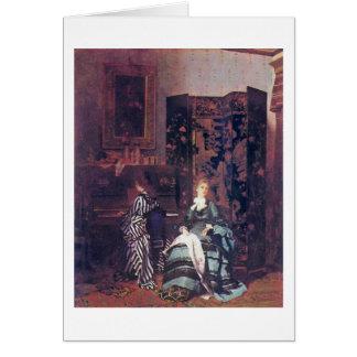 Chopin By Albert Von Keller Card