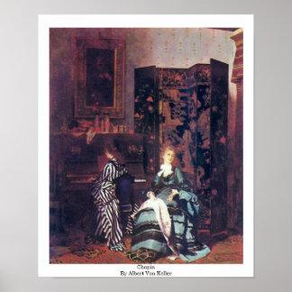 Chopin By Albert Von Keller Print