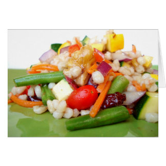 Chopped Salad Note Card - Customized