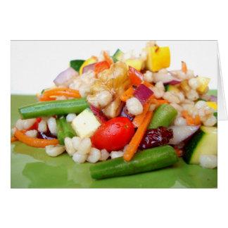 Chopped Salad Note Card - Customized - Customized
