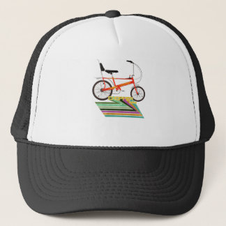 Chopper Bicycle Trucker Hat