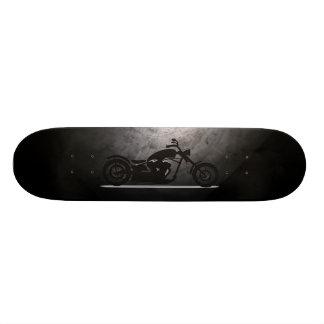 Chopper Black Skate Board