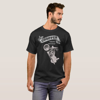 Chopper Wheels and Deals Motorcycle T-Shirt