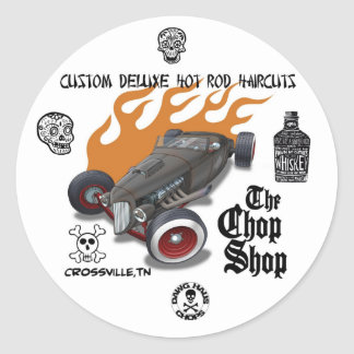 chopshop2, stamp, 40794_1523095088132_155724727... classic round sticker